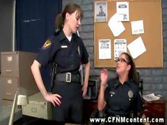 Police babes find their targets and want to get some action