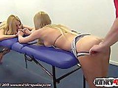Hot pornstar spanking and cumshot