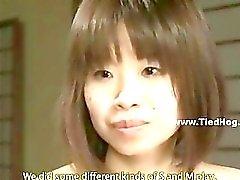 Chinesisch Sexsklavin lernte bei brutal verhauen und die sado befolgen