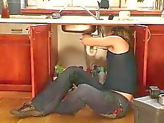 scopata Milf caldo da cucina