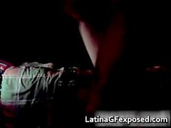 Awesome latin gf on a warm blowjob part5