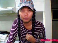 18 semaines enceinte bruyère teen thaï crème throatpie deepthroat profonde infirmière