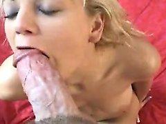 All sport blondie gets her twat wet