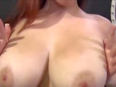 Big Natural Tits Bouncing up and Down #4