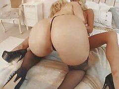 British slut Caprice in a lesbian scene