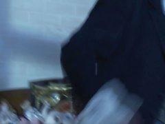 Madison le lierre et la de Lupe Fuentes tiennent coq du gentilhomme
