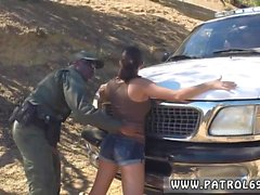 Red head cop Latina Babe Fucked By the Law