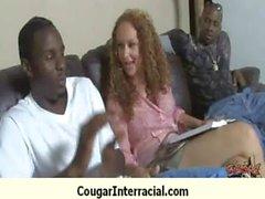 Busty cougar bangs BBC 7