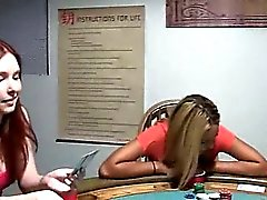 Young schoolgirls fucking on poker night