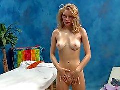 Blonde Teen Needs A Massage
