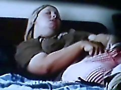 spycam spied blonde rubing clit shaking orgasm