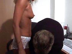 Inexperienced German Thin Secretarie Fuck In-Office - LostF