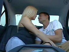 petite girl gets fucked in the backseat