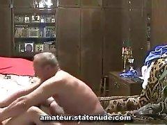Grandpa With Russian Teen