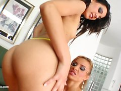 Fist Flush presents Cindy Hope and Bonni Bone in a lesbian