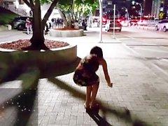 Live-Konzert in Miami - Public pissen, Upskirt, pussy, Ficken & Spritzen