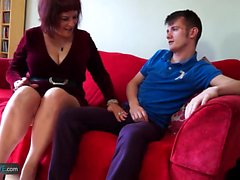 Sam Bourne fucks chubby Christina by Agedlove