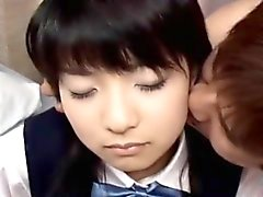 Skolflickas Saotome Tukushi blir hårt knullad