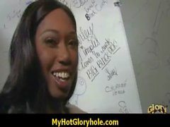 The art of blowjob - Interracial Gloryhole 8