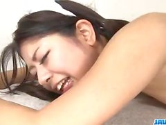 Japan maid, Konatsu Hinata, enjoys sex in har