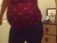 Stupid Pregnant Dancing Little Ass