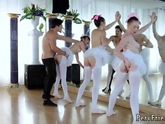 Amatör fru bj duddys svälja Ballerinas