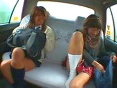 Taxi Double Creampie - empflix