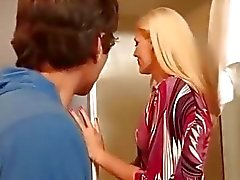 Horny Blonde Mom Darryl Hanah Blows Her Son's Friend - hotmoza