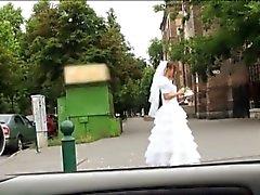 Desperate bride Amirah Adara gets fucked somewhere in public