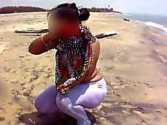 desi bhabhi on beach....