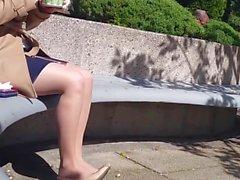 Amazing Sexy Nylon Feet and Legs pantyhose 2