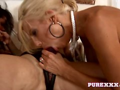 Horny Lesbians go wild and fuck in pairs non stop