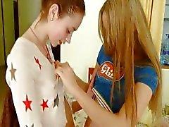 Natasha en Ivana russisch lezzs
