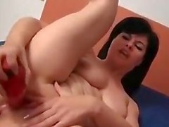 Spanish girl play with her wet pussy