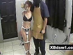 La citrouille âne BDSM Chick caressa And Play