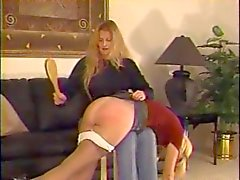 Hairbrush Spankings 3