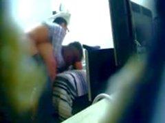 22 chubby office staff hidden cam