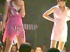 Asien Insel Taiwan frühen Striptease Kultur