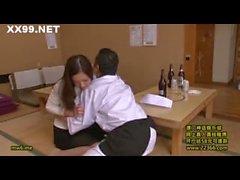 Petite wife boss seduced staff 04