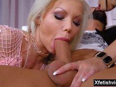 big tits pornstar footjob with cumshot film