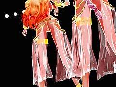 MMD Touhou Dance