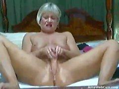 hot blonde mature on cam 2 - webcam model