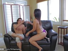 Spanish Stepmom Hot for Sons Cock