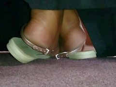 My Friend's Candid Beautiful Ebony Soles in Church 9