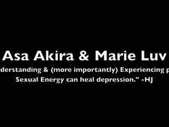 asa akira and marie luv share a cock