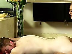 Fetish beauty massage
