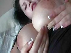 Shione Cooper wakes up to get fucked, suck cock and eat cum