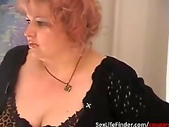 Vaknar sina Aunty genom att spela med hon fett mus