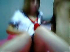 Thai High school blow her boyfriend cock like a candy