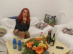 horny solo red-head